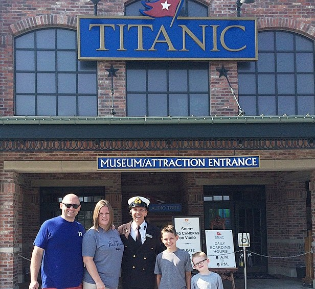 Titanic Museum Pigeon Forge {review}