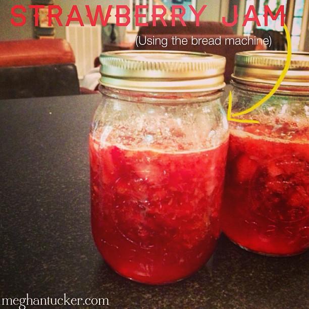 strawberry jam bread machine