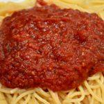 Homemade Spaghetti Marinara Sauce