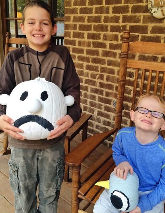 Character Pumpkins | MeghanTucker.com