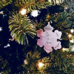 Little Painted Polka Dots Personalized Ornament