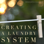 Creating a Laundry System