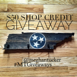 Rustic Sign Giveaway