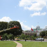 Lights Going Up at Gaylord Opryland_7.17.13