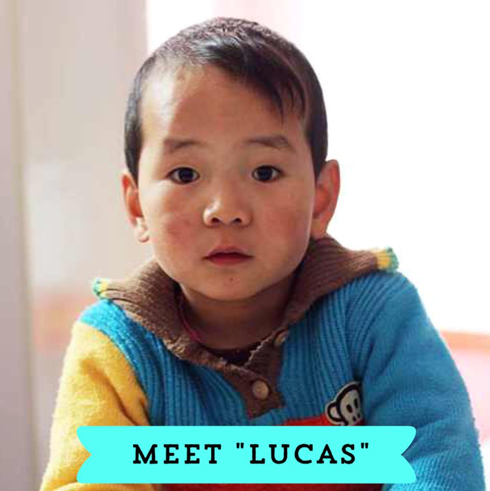 Lucas Waiting Child China